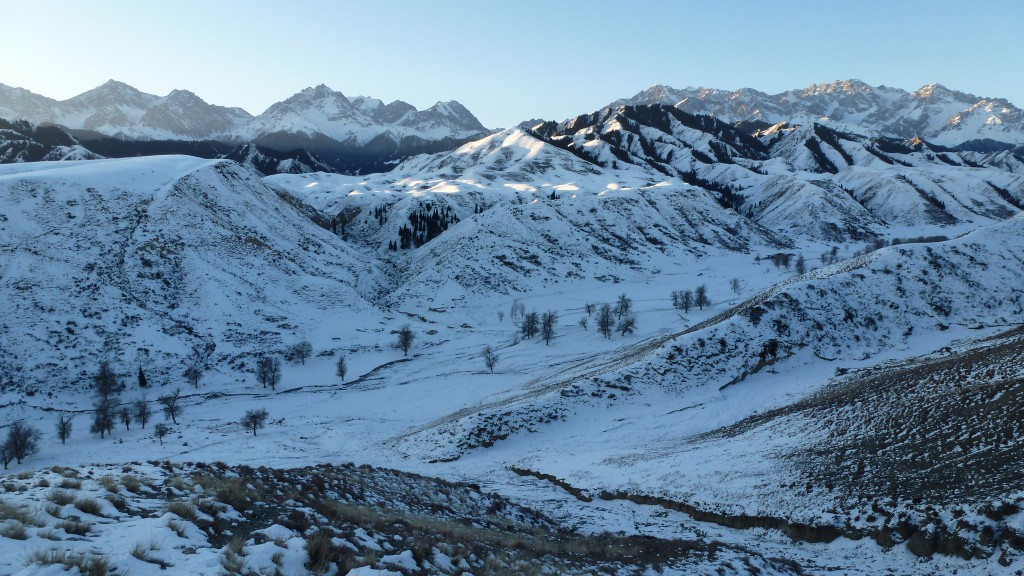 The Tian Shan in December
