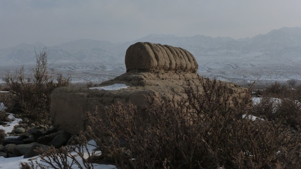 Tomb outside of Dabancheng