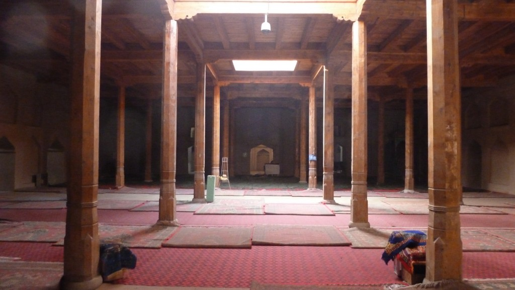 prayer hall in the Emin Mosque