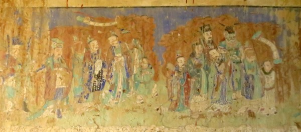 Temple Frescoes in Yu Xian