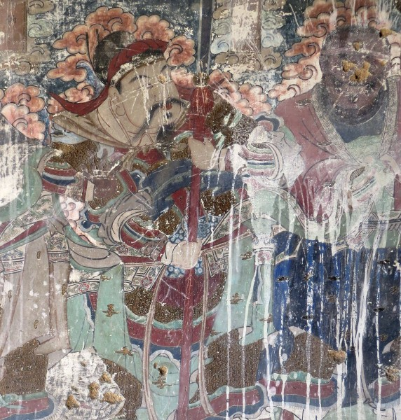 Temple fresco in Yu Xian